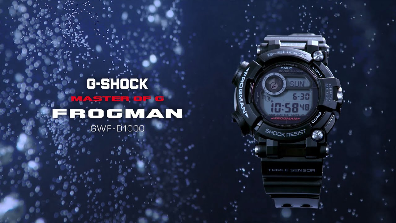 G Shock Frogman Review January 2020