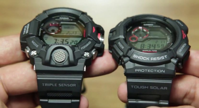 reputable site 30756 aab70 G Shock Rangeman vs Mudman Compared - Best Tactical Watch